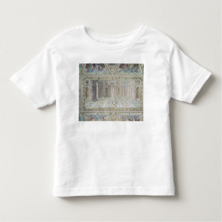 Triumph of Christianity, from the Raphael Rooms Toddler T-Shirt