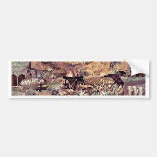 Triumph Of Death By Bruegel D. Ä. Pieter Bumper Sticker