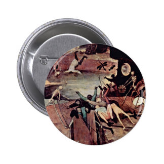 Triumph Of Death Detail By 0 (Best Quality) 6 Cm Round Badge