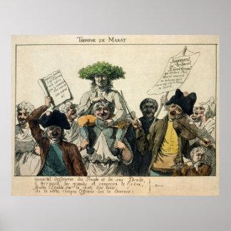 Triumph of Marat Poster