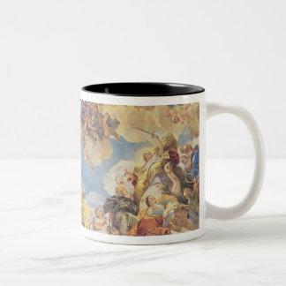 Triumph of the Hapsburgs Two-Tone Coffee Mug
