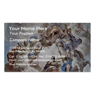 Triumph Of The Medici In The Clouds Of Mount Olymp Pack Of Standard Business Cards