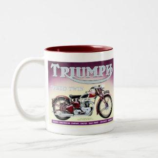 Triumph Speed Twin Two-Tone Coffee Mug