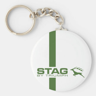Triumph Stag TR Car Vintage Hiking Duck Key Chain