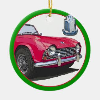 Triumph TR4 Ornament