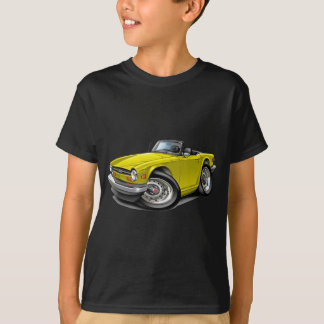 Triumph TR6 Yellow Car T-Shirt