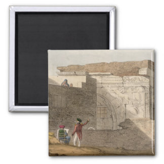 Triumphal Arch, Tripoli, plate 4 from 'A Narrative Square Magnet