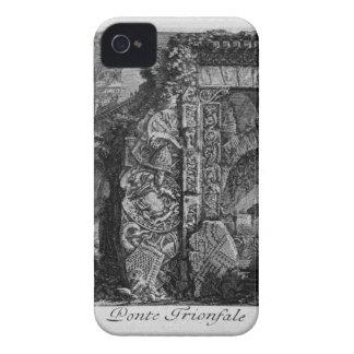 Triumphal bridge by Giovanni Battista Piranesi iPhone 4 Case-Mate Case