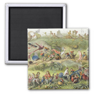 Triumphal March of the Elf-King, illustration from Fridge Magnet
