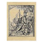 Triumphal Maximilian postcards