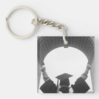 Triumphant Graduate Keychain