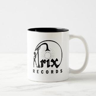 Trix Records Two-Tone Coffee Mug