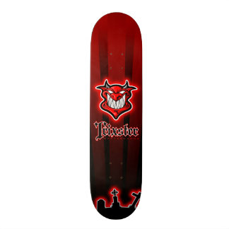 Trixster Red Devils Night Skateboard