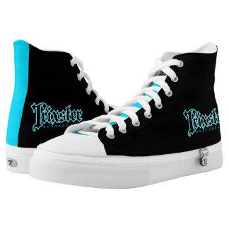 Trixster Skateboards Blue & Black Sneakers
