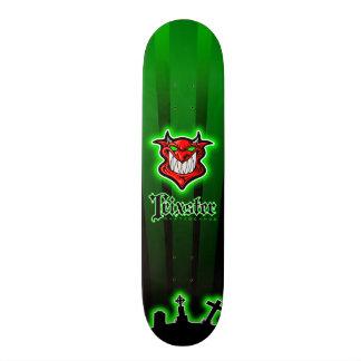 Trixster Skateboards - Green Devils Night