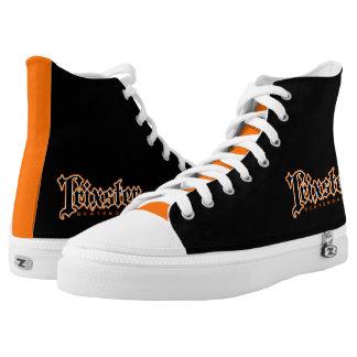 Trixster Skateboards Orange & Black Sneakers