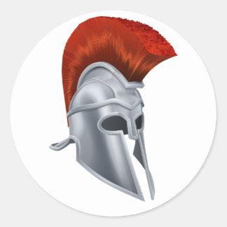 Trojan Helmet Stickers