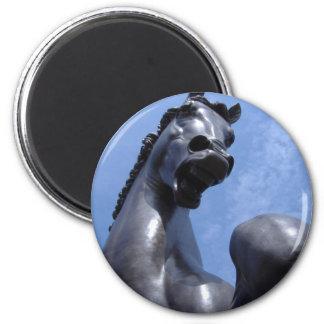 Trojan Horse 6 Cm Round Magnet