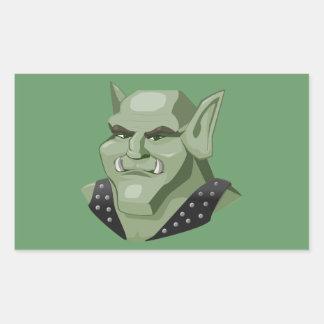 troll-155646 troll goblin mountain troll monster rectangular stickers