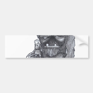 Troll and Companion drawing Bumper Sticker