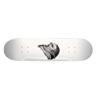 Troll black and white Design Skate Decks