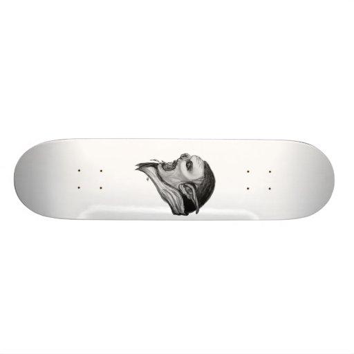 Troll black and white Design Custom Skateboard