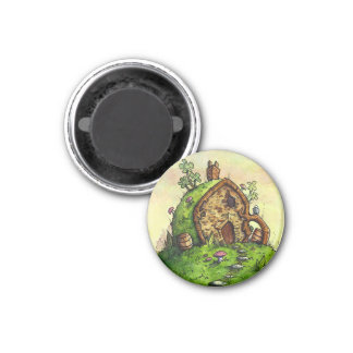 Troll Bridge Round Magnet from Unreal Estate