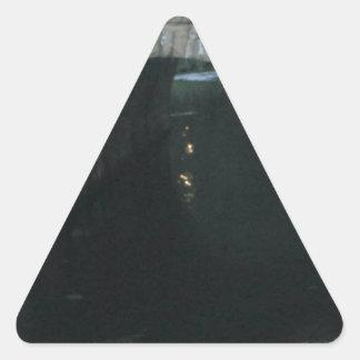 Troll Bridge Triangle Sticker