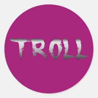 Troll Classic Round Sticker
