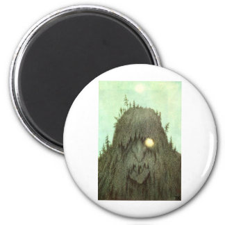 troll-clipart-11 6 cm round magnet