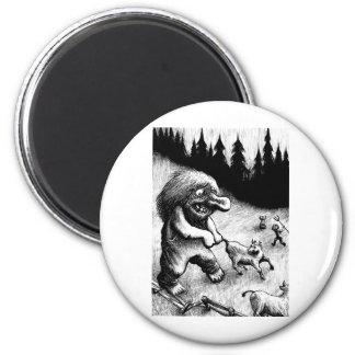 troll-clipart-13 6 cm round magnet