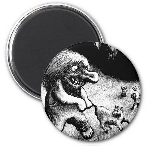 troll-clipart-13 fridge magnets