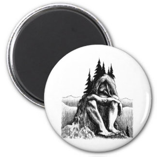 troll-clipart-14 6 cm round magnet