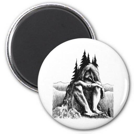 troll-clipart-14 fridge magnet