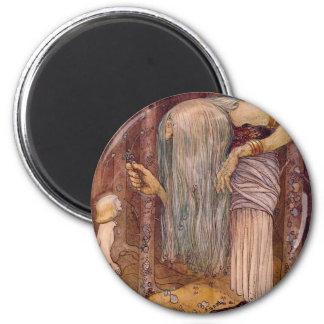 troll-clipart-7 6 cm round magnet