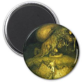troll-clipart-8 6 cm round magnet