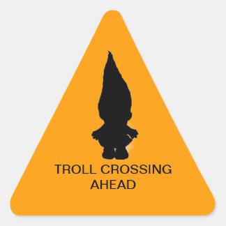 Troll Crossing Sticker
