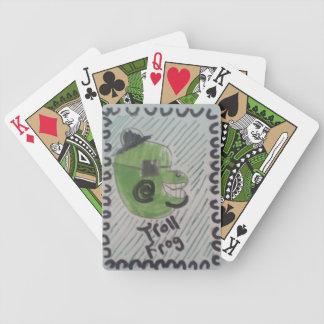 Troll Frog Poker Deck