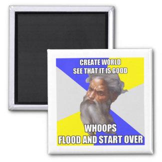 Troll God Flood Magnet