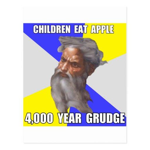 Troll God Grudge Postcards