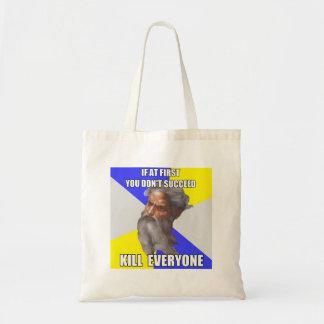 Troll God Kills Budget Tote Bag