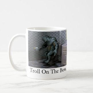 Troll On The Bowl Basic White Mug