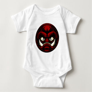 Troll or Monster Icon Emoticon Baby Bodysuit