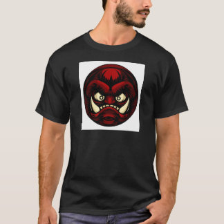 Troll or Monster Icon Emoticon T-Shirt