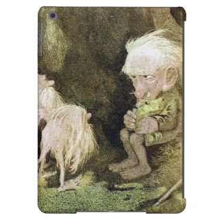 Troll with his Pet Frog iPad Air Cover