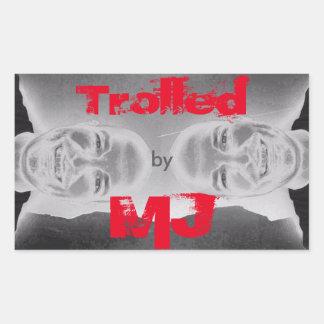 Trolled by MJ Sticker