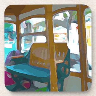 Trolley Ride in Key West Coaster