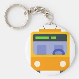 Trolleybus Key Ring