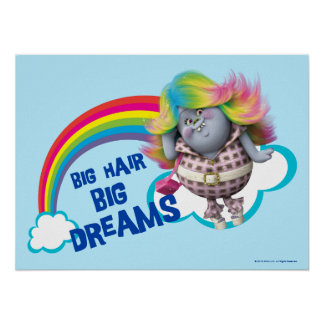 Trolls | Big Hair, Big Dreams 2 Poster
