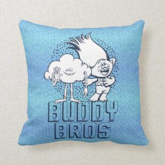 Trolls | Cloud Guy & Branch - Buddy Bros Cushion